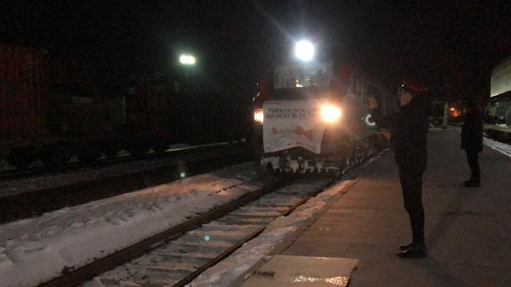 Çin'e yapılan bor ihracatında ilk tren Kars'a ulaştı