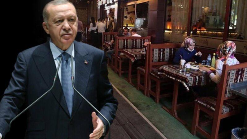 Erdoğan'ın yeme-içme sektörüne verdiği destek ödemesi müjdesinin ayrıntıları ortaya çıktı! Peki kim ne kadar alacak?