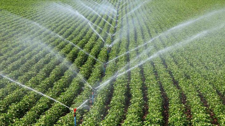 Tarımsal sulamada tasarruf teşvik edilecek
