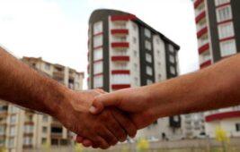 Türkiye genelinde konut satışları nisanda yüzde 124 artarak 95 bin 863 oldu